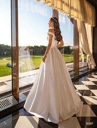 Wedding dress S1357 ivory