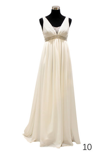 Wedding dress H1020 ivory