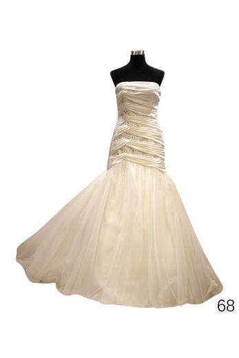 Wedding dress H6820 ivory