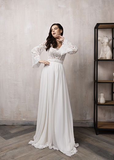 Wedding dress LT02  Ivory